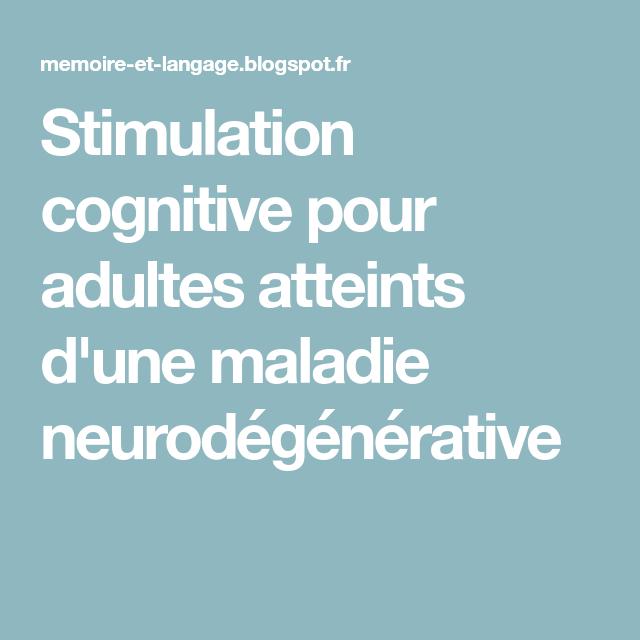 Stimulation cognitive pour adultes atteints d'une maladie neurodégénérati… | Activité manuelle ...