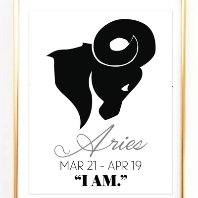 Aries Symbol Print Colorado State Pinterest Aries Symbol
