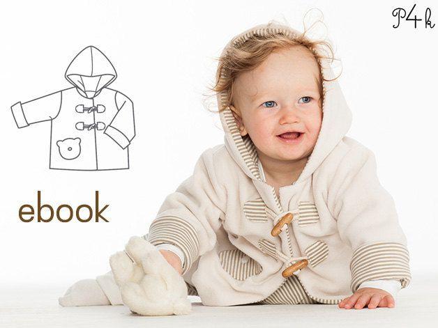 Brio Schnittmuster Baby Jacke, Hoodie, Näheinsteigerinnen, Ebook, Foto Anleitung, Junge, Schnitt von pattern4kids auf Etsy
