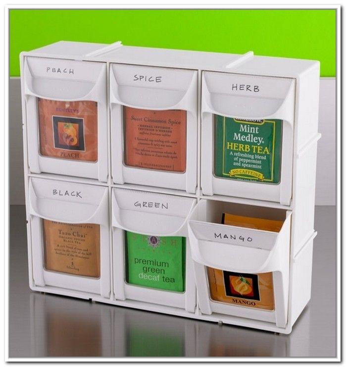 Diy Tea Bag Storage More