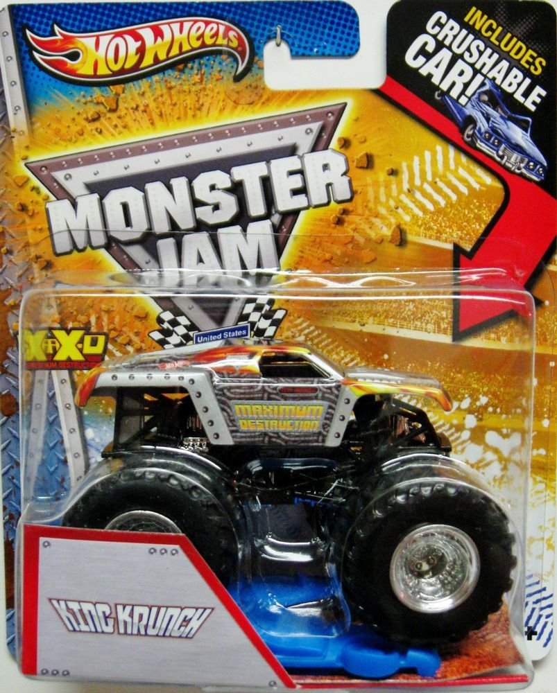 Mattel legends 1 24 1969 hot wheels twin mill concept car electronic - Grave Digger The Legend Hot Wheels Monster Jam 2013 Crushable Car Included