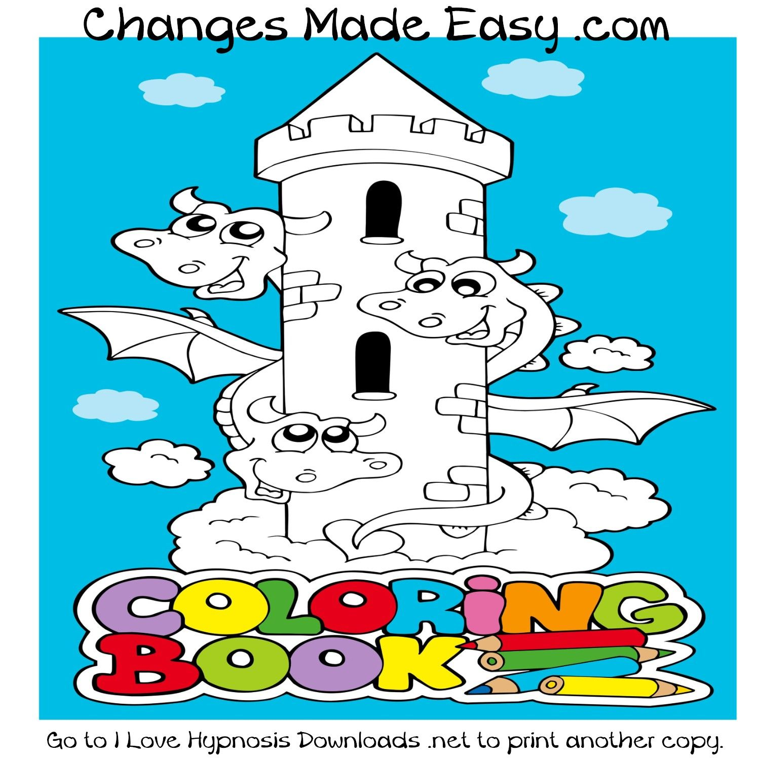 This Is A Free 40 Page Fantasy Coloring Book Compliments Of Changes Made Easy You Can Print The Whole Or Pick Pages Want To Do That