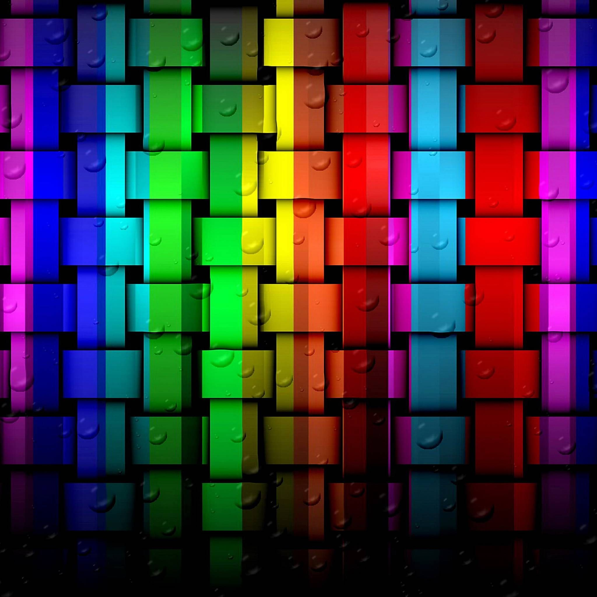 3d Colourful Geometric Tap To See More Cool 3d Geometric
