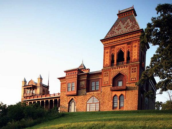 This Is The Home Of The Great Hudson River School Painter Frederic