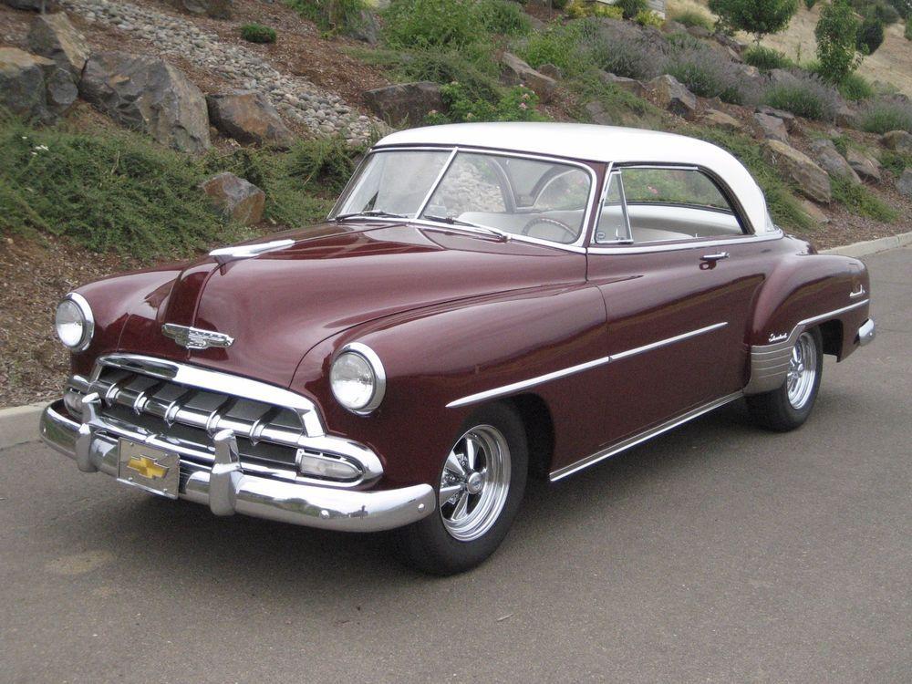 Chevrolet bel air 150 210 two door hardtop chevrolet for 1952 chevy two door hardtop