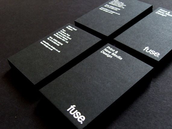 Really Black Cards With Bold White Text Just Cannot Look Bad