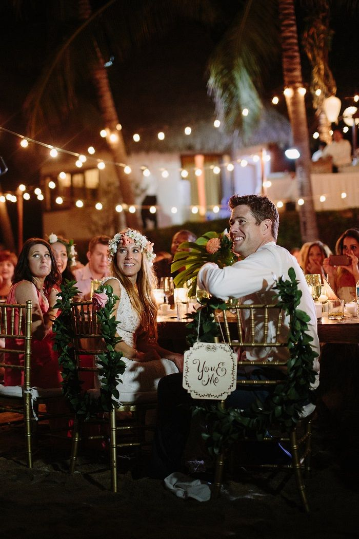 Wedding Reception on the beach | Destination wedding in Mexico | Fab Mood