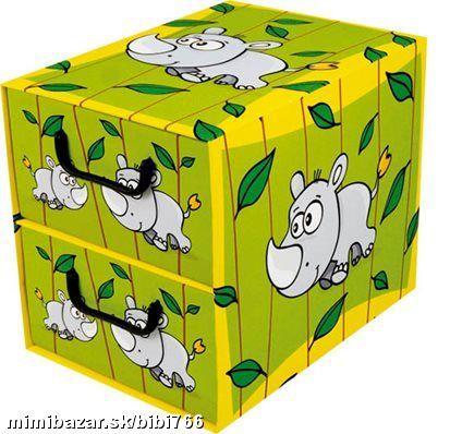 Krabica 2 šuplíková NOSOROŽEC