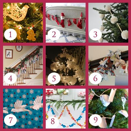 9 Garland Ideas for the Holidays