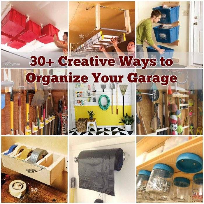Amazing Organizing Your Garage Ideas Part - 8: 30+ Creative Ways To Organize Your Garage