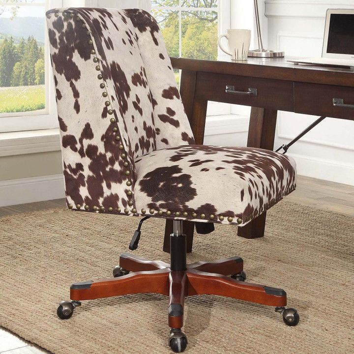 Cow Print Desk Chair - Desk Design Ideas Check more at //samopovar : cow print office chair - Cheerinfomania.Com