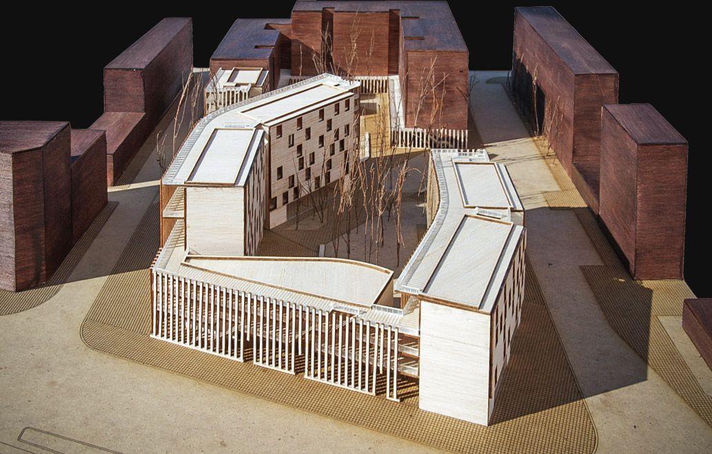 Maqueta de arquitectura para proyecto final de carrera de for Carreras de arquitectura