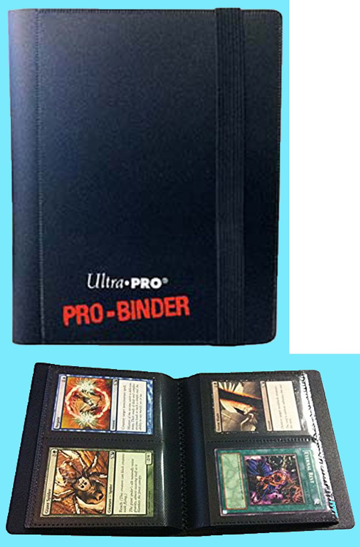 Ultra Pro 9 Pocket White Pro-Binder holds 360 Magic Pokemon cards in sleeves