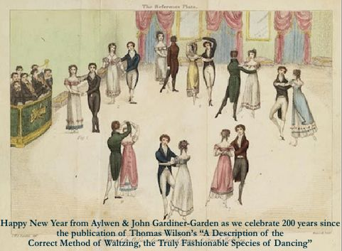 """""""A Description of the Correct Method of Waltzing, the Truly Fashionable Species of Dancing"""" by Thomas Wilson, 1816."""