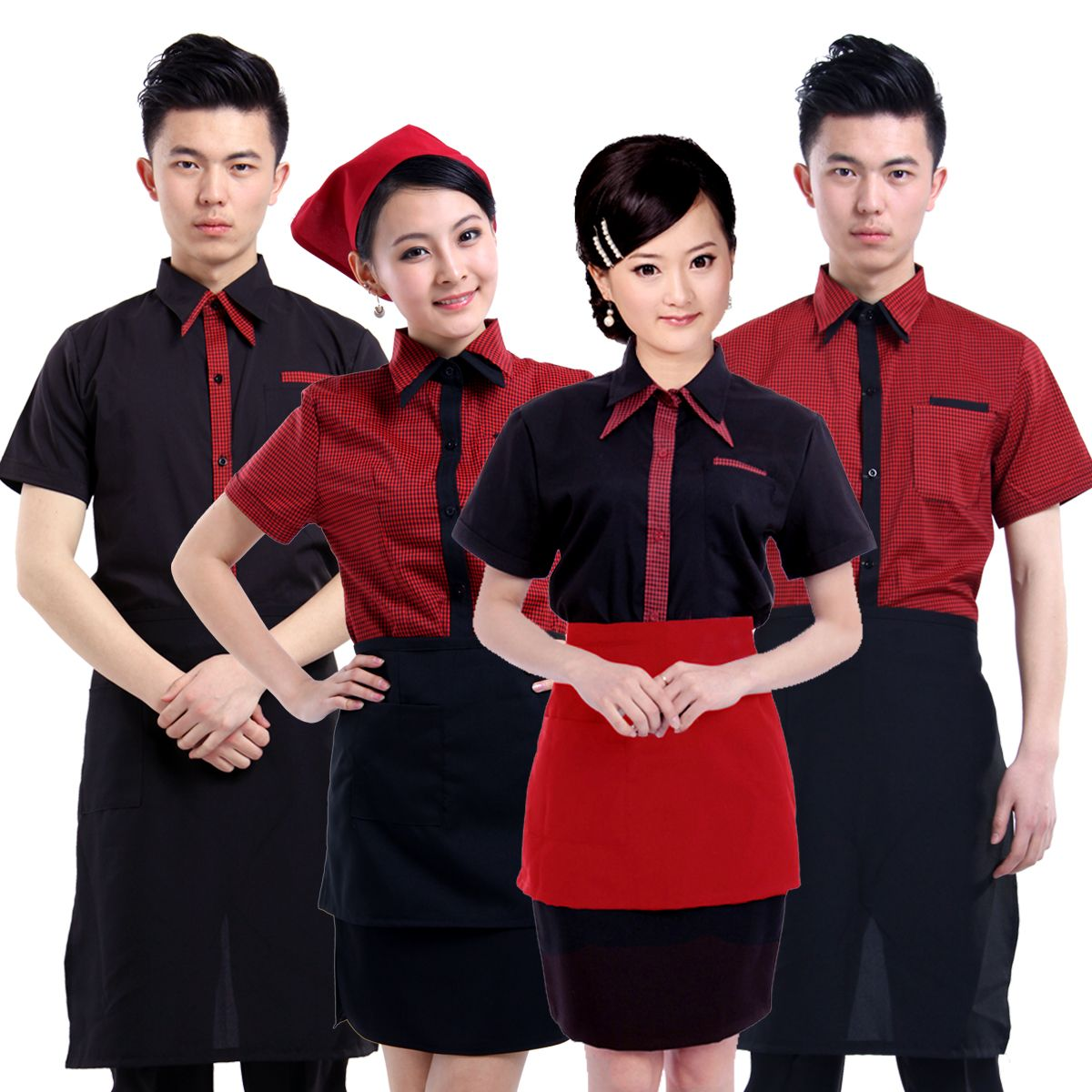 Elegant Asian Restaurant Uniform Ideas