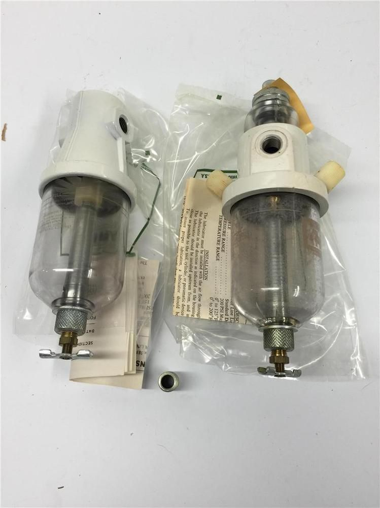 Aro Pneumatic Air Tool Compressor Line 1 4 Lubricator Filter Set 28222 Air Tools Mason Jar Lamp Filters