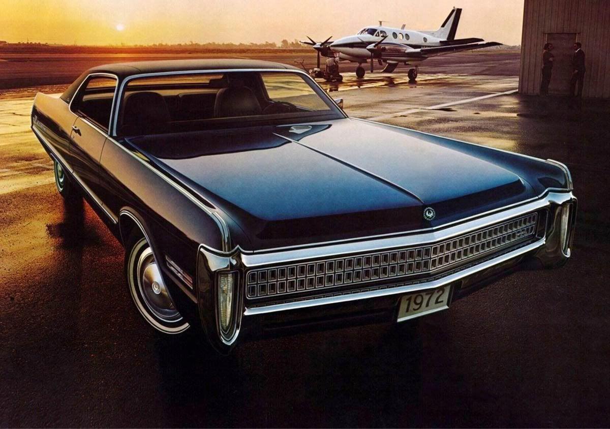 1972 Chrysler Imperial Lebaron Two Door Hardtop Ia
