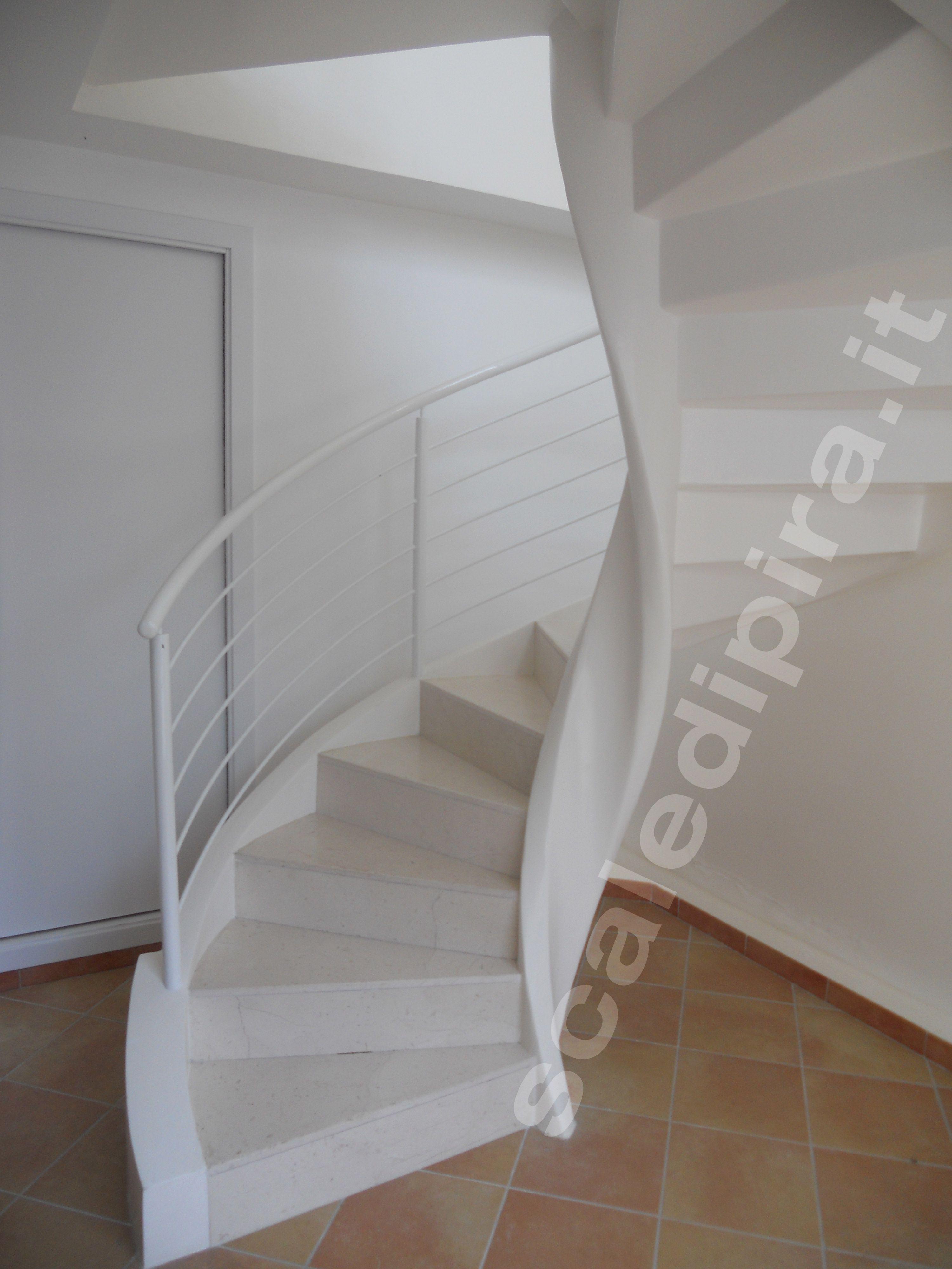 Le scale elicoidali sono una classica soluzione per - Scale minimo ingombro ...