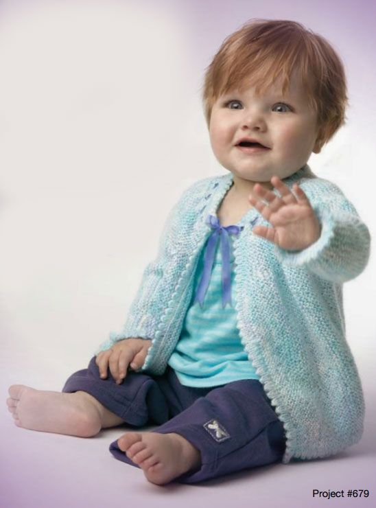 dbc0c030b64 Picot edge baby jacket free knitting pattern. Beautiful little baby jacket  with a picot edge. Sizes  0-3 months