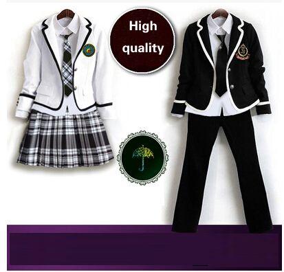 4dc936041c2bf Barato Britânico homens e mulheres de inverno uniforme escolar japonês  escola uniforme escolar para menina e menino 5 conjuntos