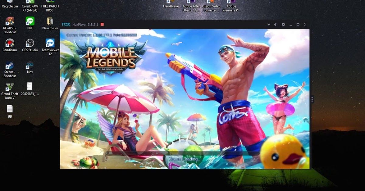 Cara Download Game Mobile Legend Di Laptop Menggunakan Nox