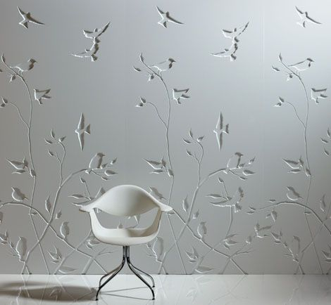 Wallcovering , Creative Wall Paneling by BN \u2013 Iconic Panels  Bn - paneles para pared
