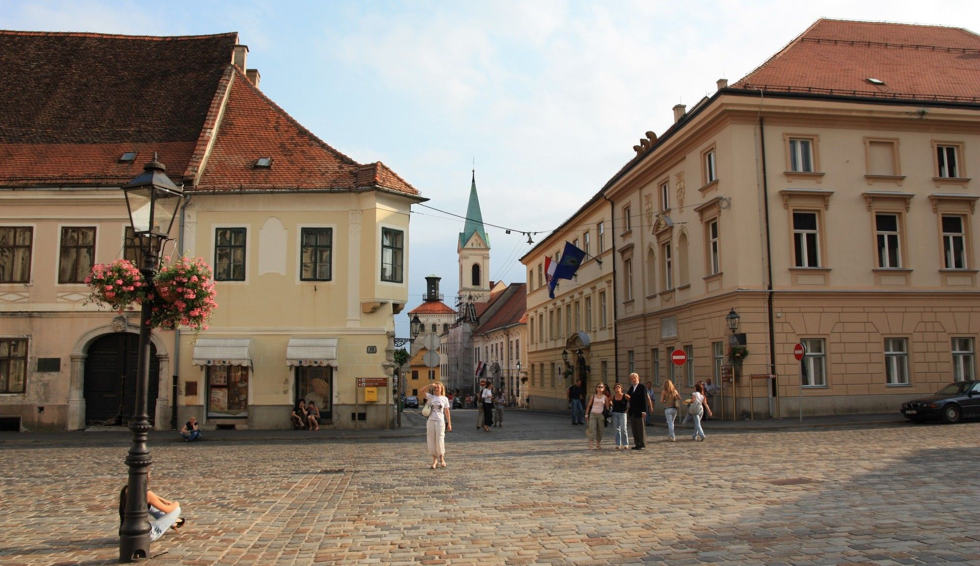 The Beautiful Old Upper Town And Kaptol Are Sure To Take Your Breath Away The View Overlooking The Mountain Medvednica And Zagreb Bike Tour Small Group Tours