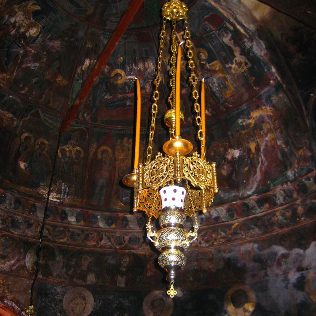 Samos Greece Monastery of Megali Panagia