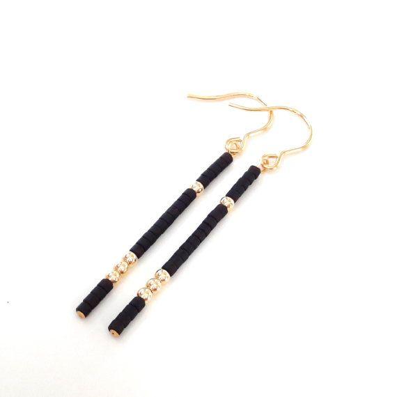 Ohrringe gold minimalistische Ohrringe moderne Ohrringe gold | Etsy