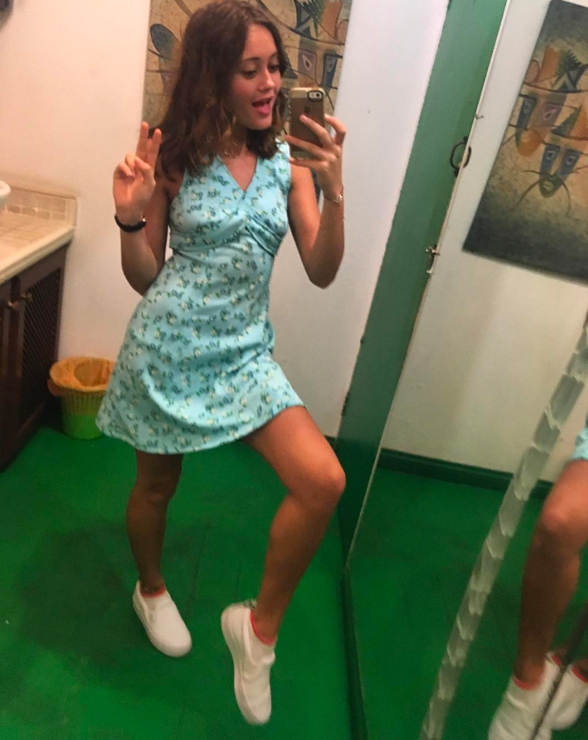 Ella purnell short dress pictures new photo