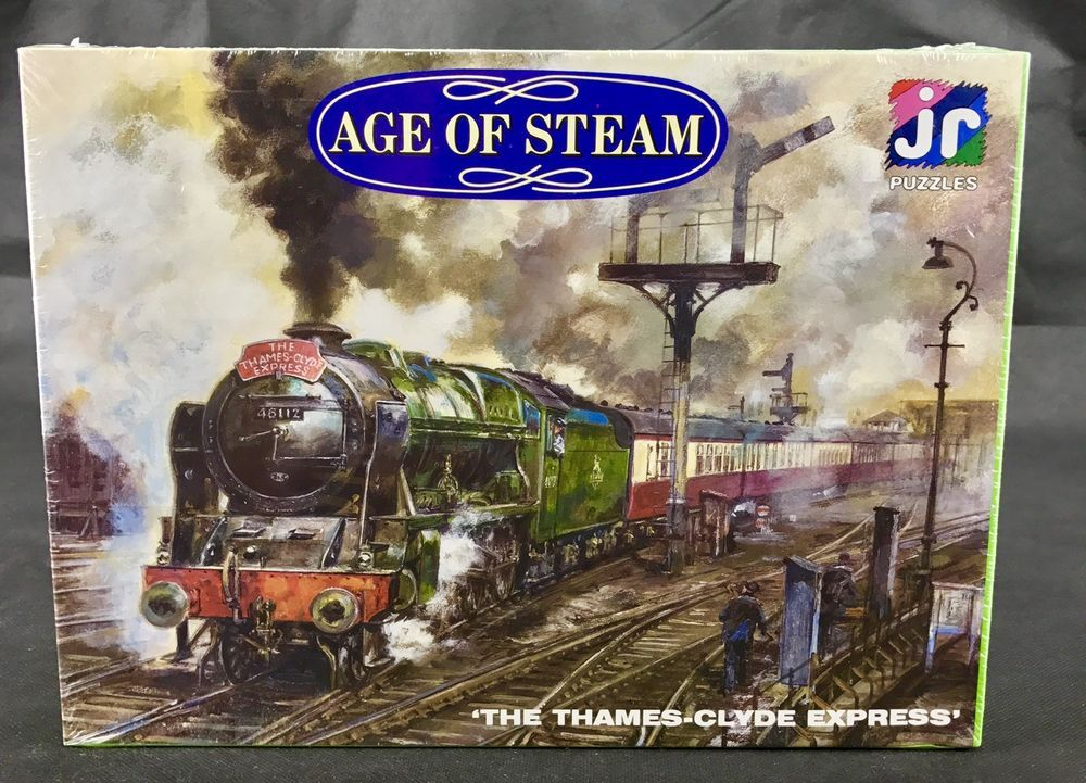 Jigsaw Puzzles The Thames Clyde Express JR puzzles 500 piece train age of steam   Puzzle. Jigsaw puzzles. Ebay
