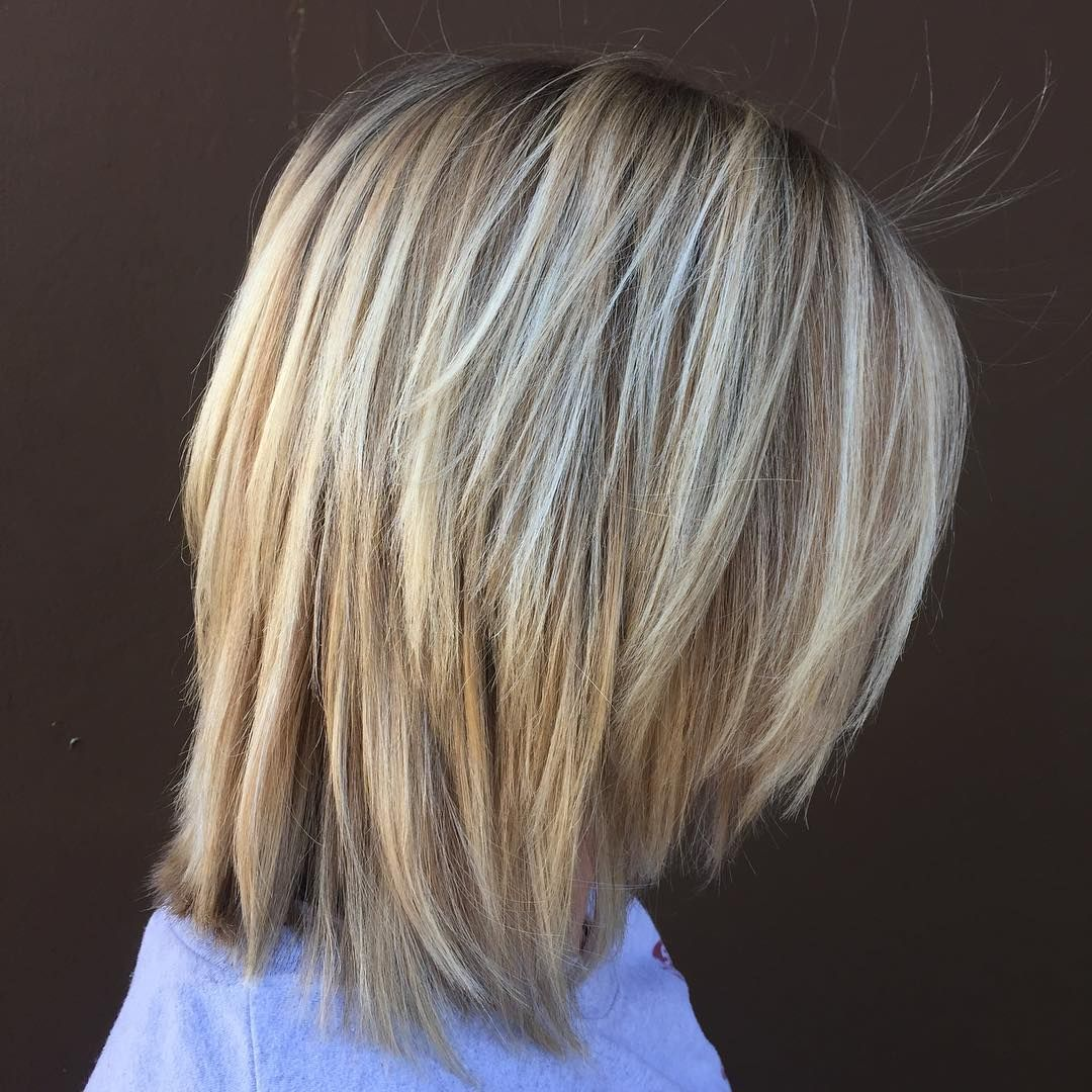 20 Long Choppy Bob Hairstyles for Brunettes and Blondes in ...