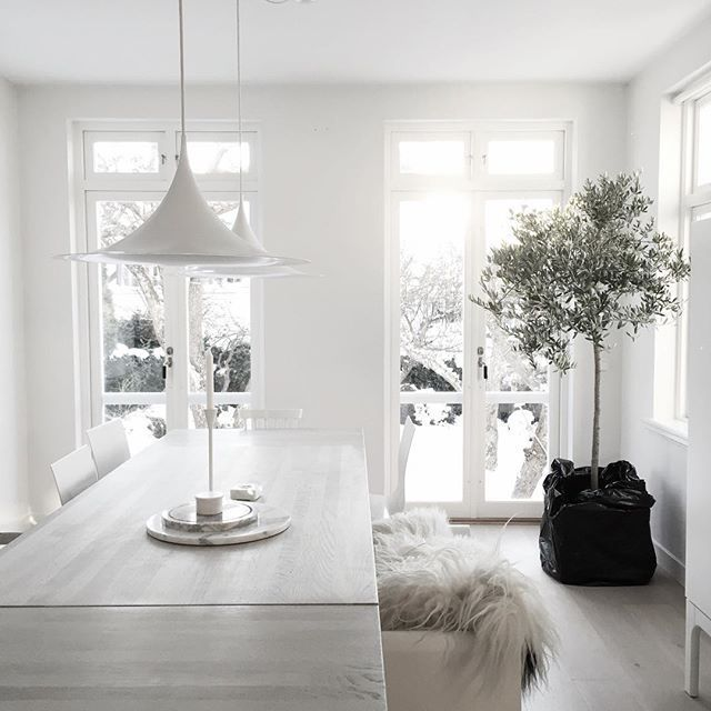 32 More Stunning Scandinavian Dining Rooms: Lihlly: Lihlly. (With Images)