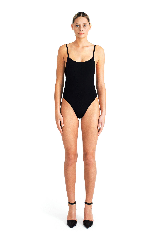 ba4c941c8c6 BETH RICHARDS is Quality Modern Swimwear. Beth Richards Lily One Piece -  Black X-Small