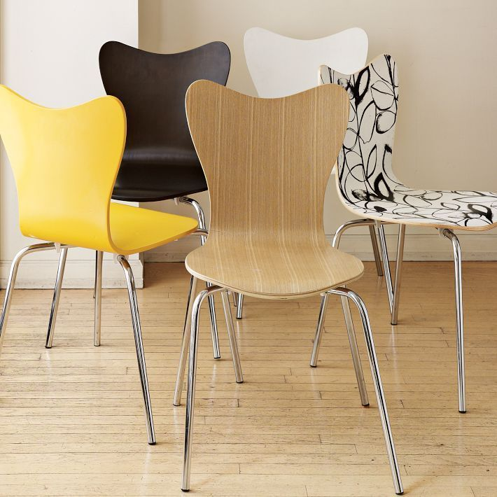 Scoop-Back Chairs
