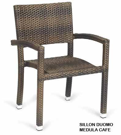 SILLON RATAN SINTETICO | Mobiliario terraza, Sillones, Sillas