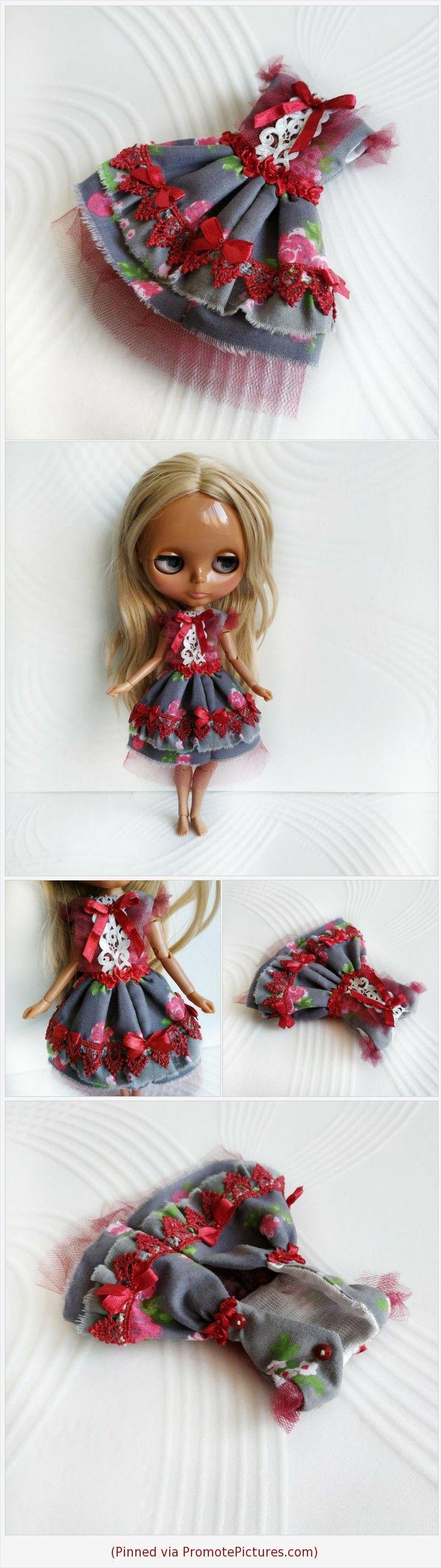 Items similar to Blythe doll Shabby chic lace dress on Etsy