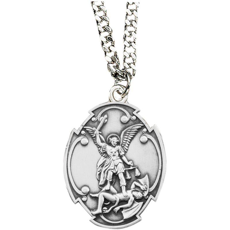 St michael pendant saint michael st michael pendant and patron saints st michael pendant aloadofball Gallery