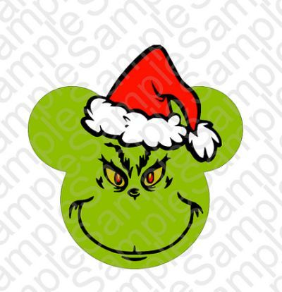 Colorful Grinch Face Template Inspiration - Resume Template
