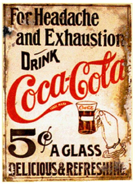 Coke Poster reproduction
