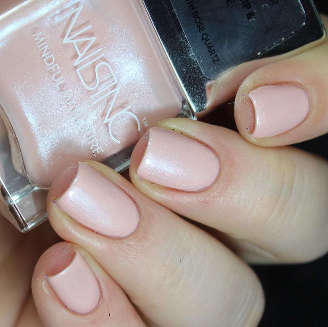 Nails inc gel nail colors and gel nail polish on pinterest - Nails Inc Better Together Is A Pale Pink With A Silvery Shimmer With A Blue Flash