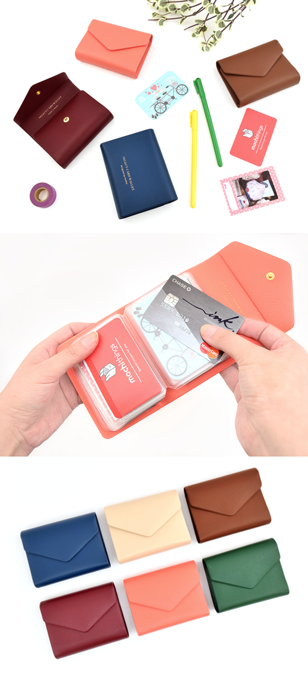 Colorful Button Card Book | Card book, Classy and Organizing