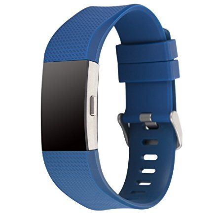 Amazon com: Charge 2 Band Replacement,Classic Silicone Band