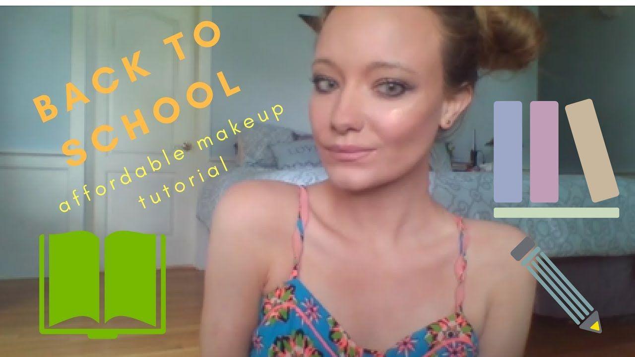 Back to school affordable makeup tutorial httpsyoutube back to school affordable makeup tutorial httpsyoutube baditri Gallery