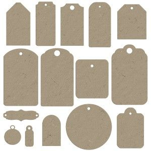 Chipboard tagsfree printables crafty pinterest chipboard chipboard tagsfree printables shape templatesgift tag templatesfree negle