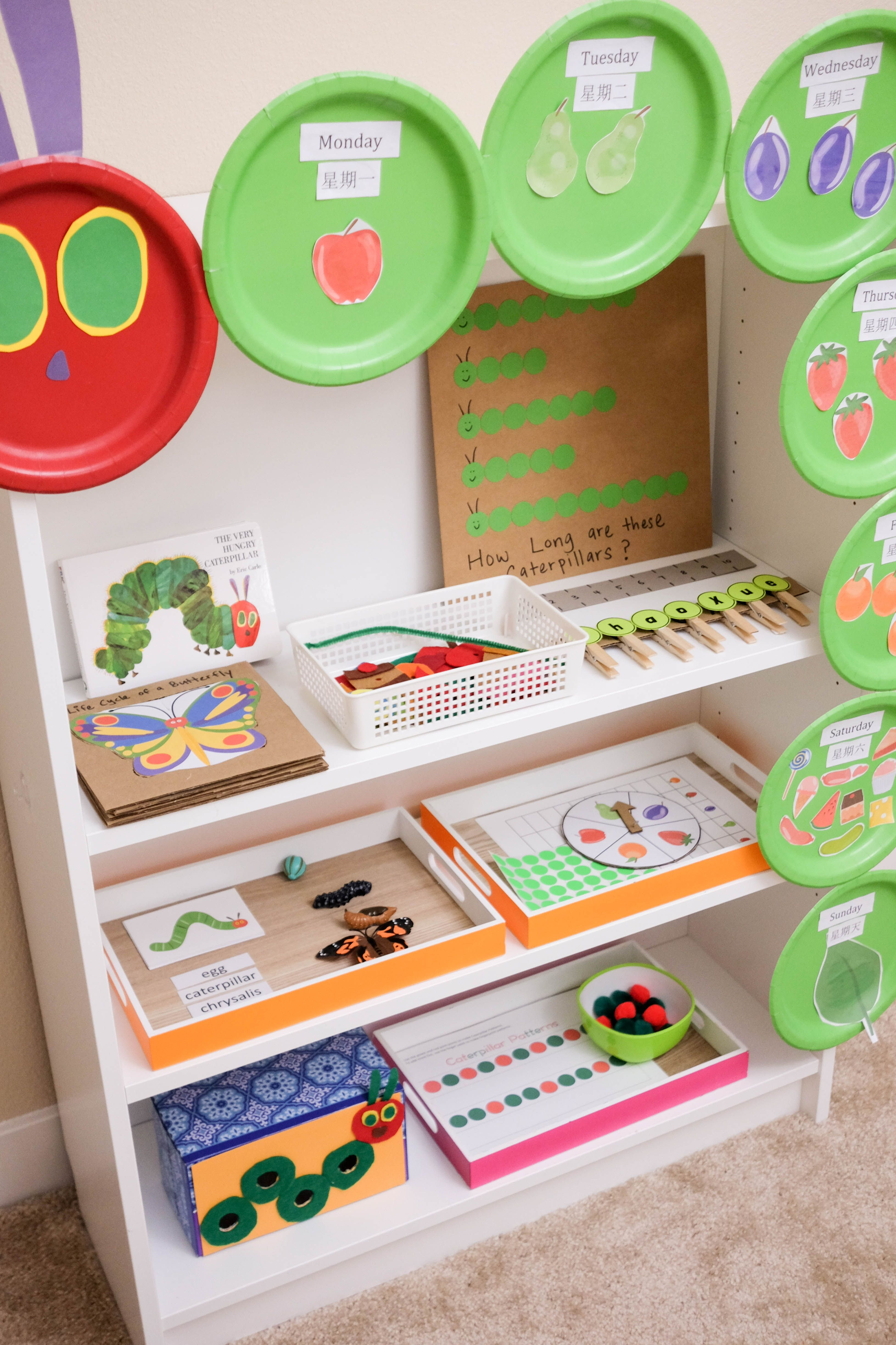 The Very Hungry Caterpillar Activities For Toddlers And
