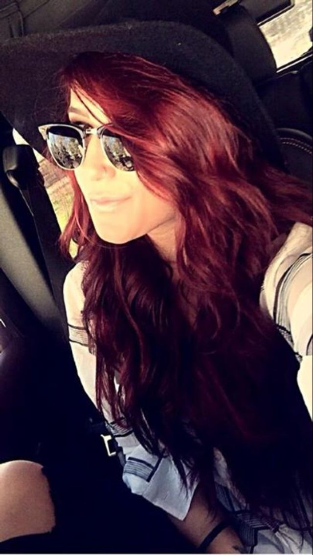 Chelsea Houska Red Hair Hair Color Burgundy Chelsea Houska Hair Hair Color