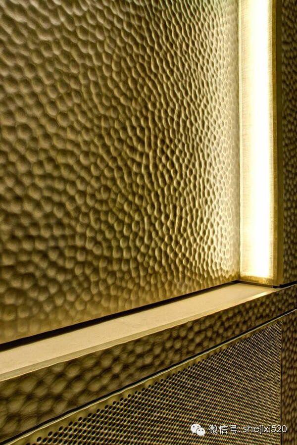 Materials Beaten Copper Metal Wall Panel Corrugated Metal Wall Wall Panels