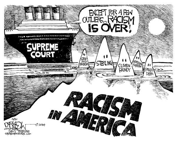 rascim in america There are no laws against racism as a belief system or an attitude there are many laws — both federal and state — prohibiting a wide variety of racist behaviors in the contexts of, among other things, employment, public accommodations, contracts, access to government services, race-based discrimination by government officers, etc.