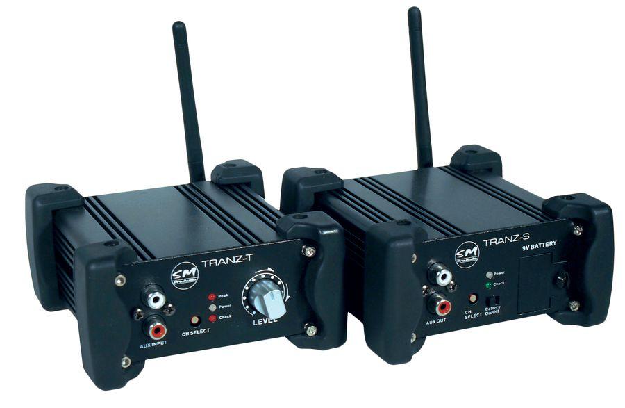 Sm pro audio tranz sistema stereo di direct injection wireless